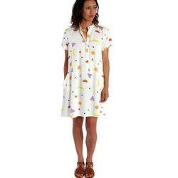 "<b>Dusen Dusen</b> Fruity Tee Dress, <a href=""http://onanyc.com/products/fruity-tee-dress"">$185</a> at O.N.A."