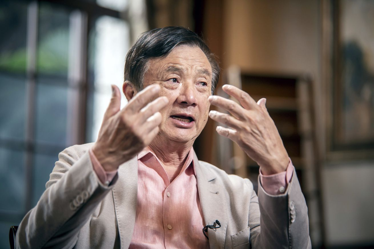 Billionaire Huawei Founder Ren Zhenfei Defiant in Face of Existential Threat
