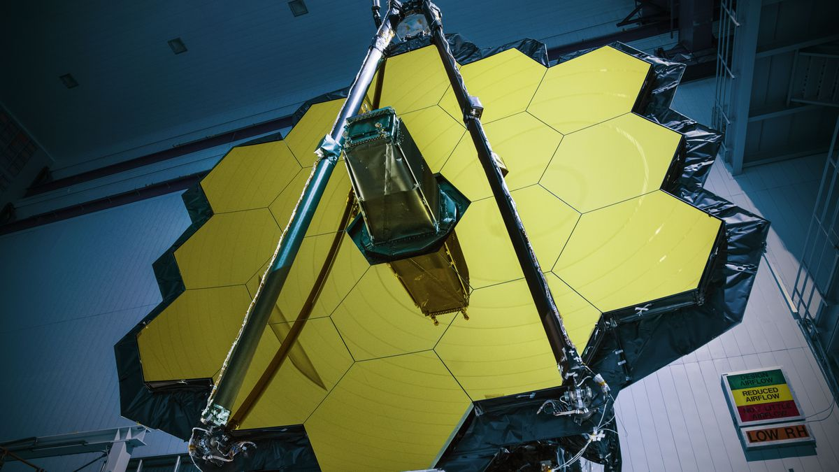 Why Nasa Is Struggling To Get Its Most Powerful Space Telescope Off Webb Fuel Filters The Mirror Of Nasas James At Agencys Goddard Flight Center Image