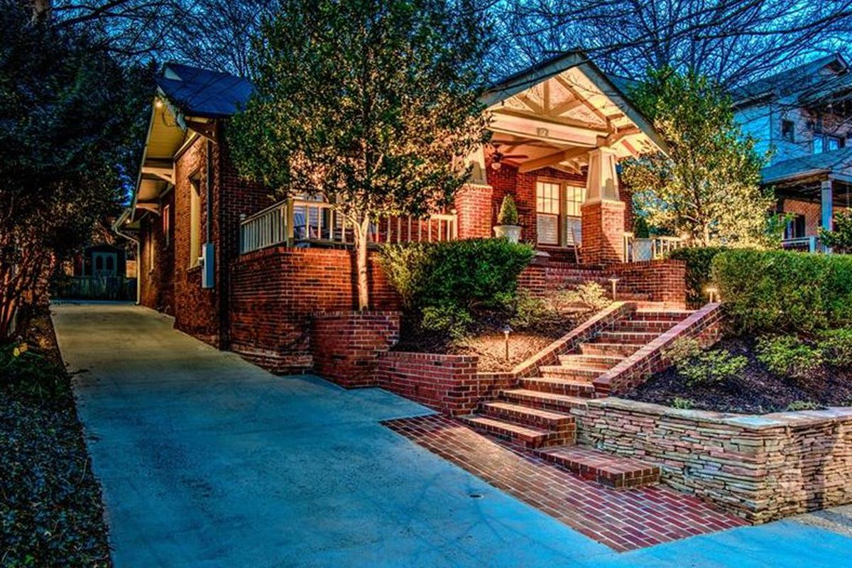 A house for sale in Virginia Highland in Atlanta right now.