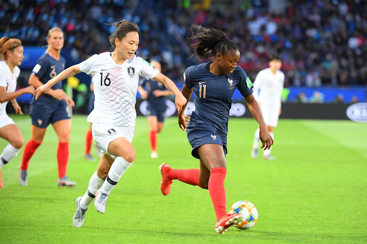 Soccer: Womens World Cup-Korea Republic at France