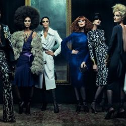 """Tom Ford's first womenswear collection via <i><a href=""""http://www.vogue.com/magazine/article/tom-ford-returns/#/gallery/mr-ford-returns/3"""" rel=""""nofollow"""">Vogue</a></i>"""