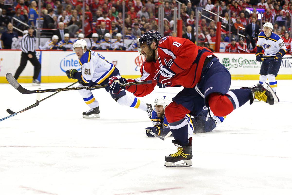 NHL: St. Louis Blues at Washington Capitals