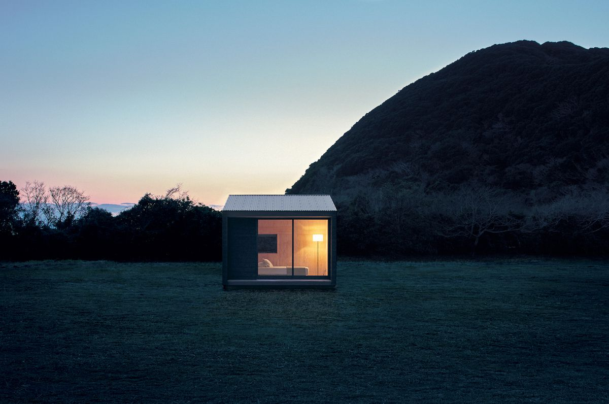 The Muji hut is one of the Japanese brand's best ideas.