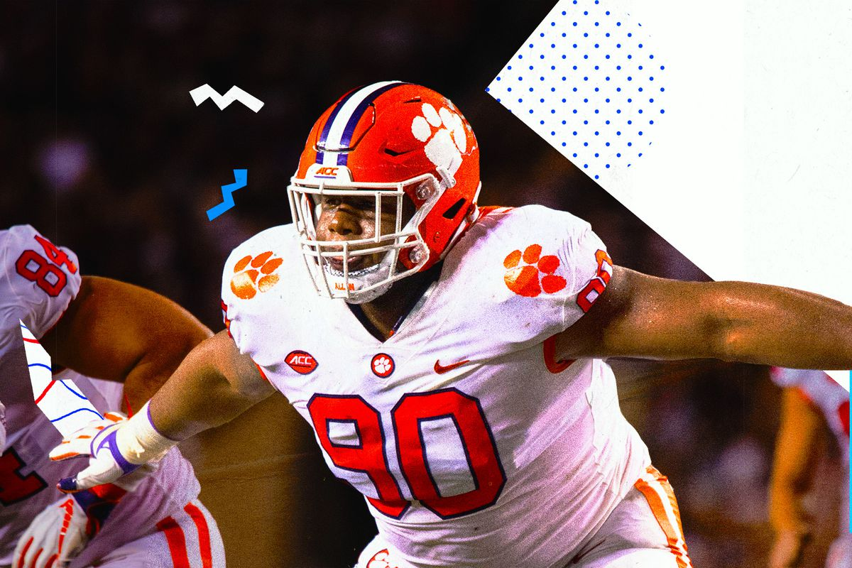 8d0388e8a The New York Giants picked Dexter Lawrence 17th overall in the 2019 NFL  Draft. Here's what Stephen White had to say about the Clemson defensive  tackle ahead ...