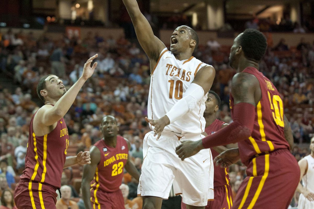 Jonathan Holmes will lead the Longhorns in their attempt to retake the Frank Erwin Center.