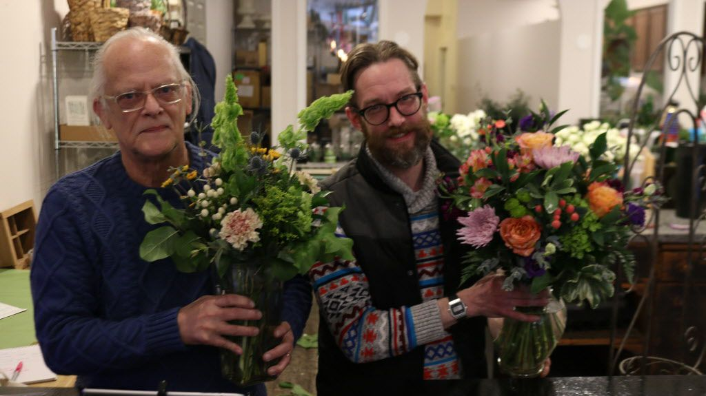 Blossom Boys ownersSteve English (left) and Ryan Steinbach | Brian Rich for the Sun-Times