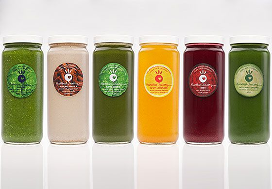 Comparing new york citys juice cleanse packages racked ny packages offered light hearted four juices a smoothie and a nut milk full hearted five green juices and a nut milk and juice til dinner three malvernweather Choice Image