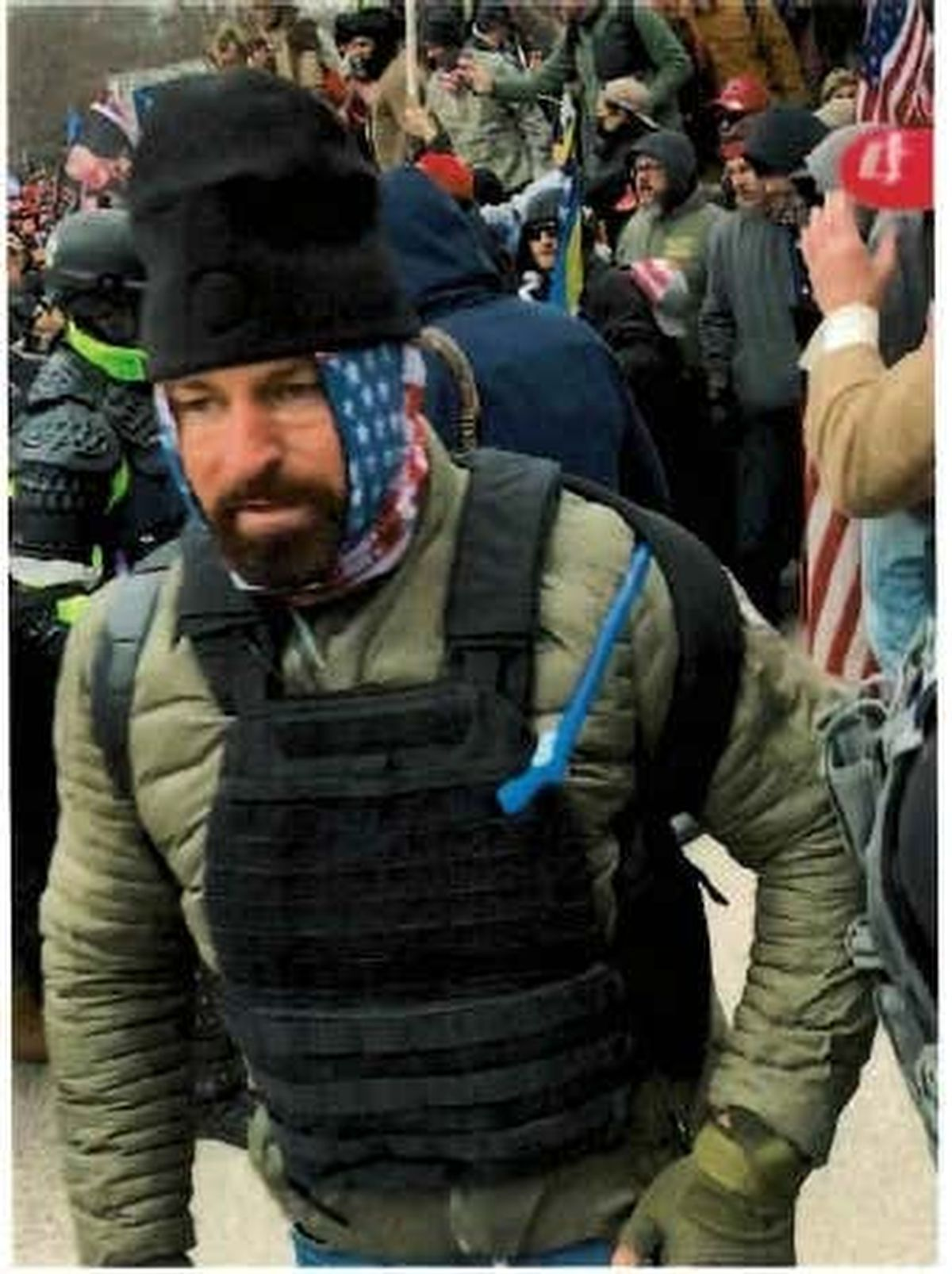 Brady Knowlton, of St. George, faces criminal charges for allegedly entering the U.S. Capitol during the Jan. 6, 2021, riot in Washington.