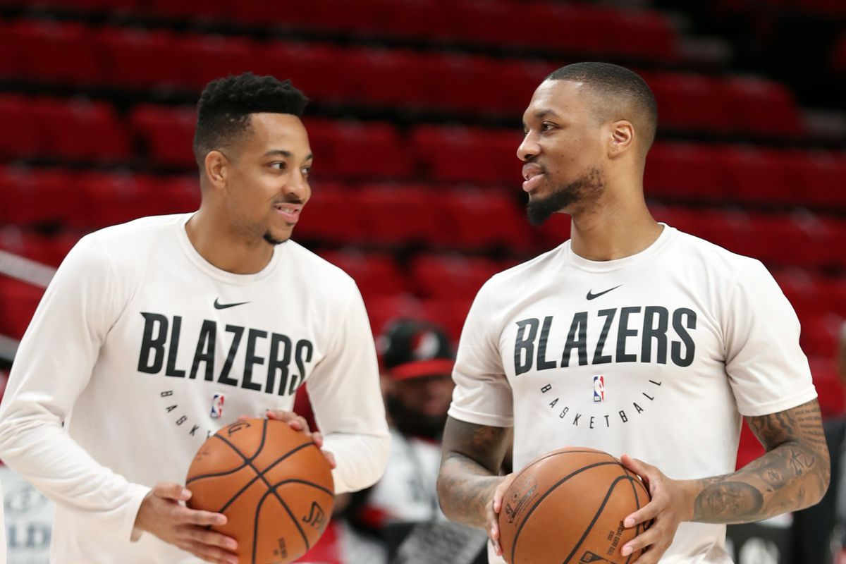 Several Blazers Out vs. Maccabi Haifa Due to Load Management