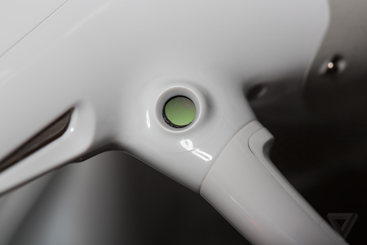 dji phantom 4 camera sensor