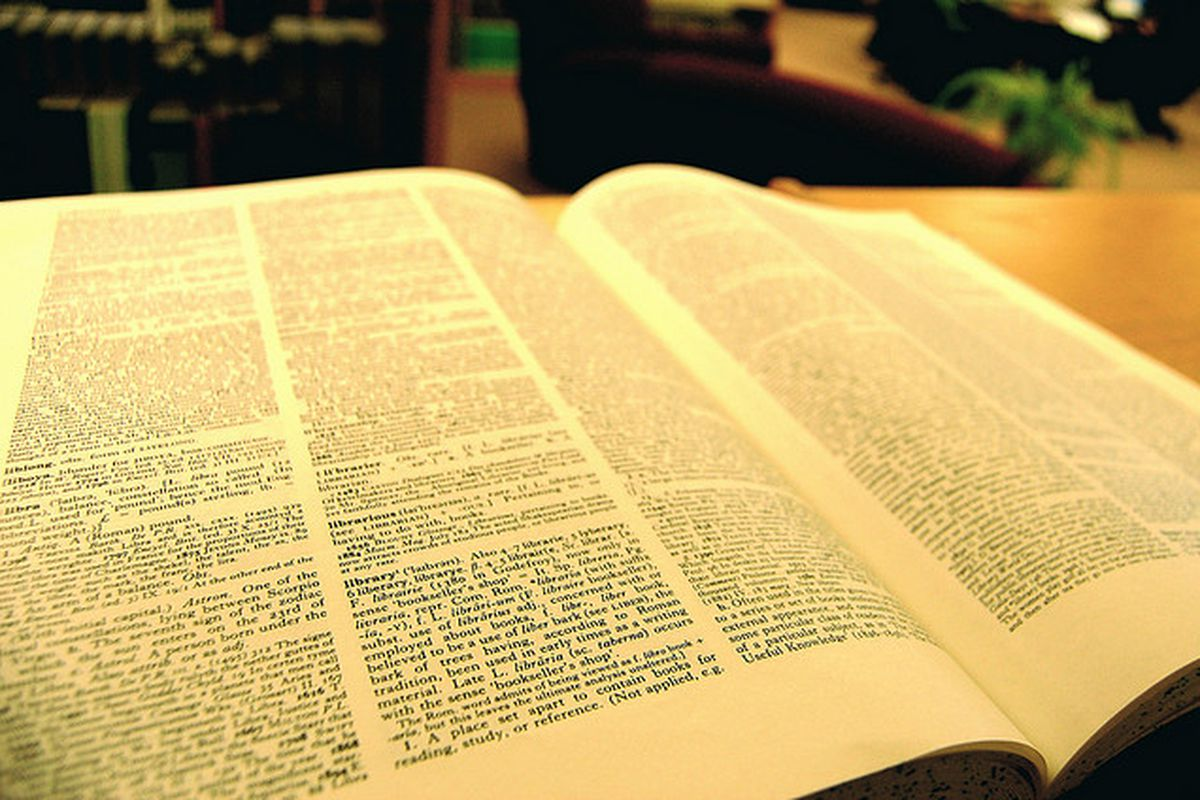 dictionary (UWGB Cofrin Library Flickr)