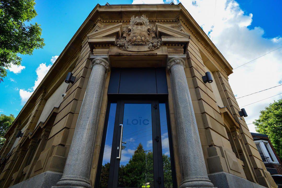 Loïc's front entrance