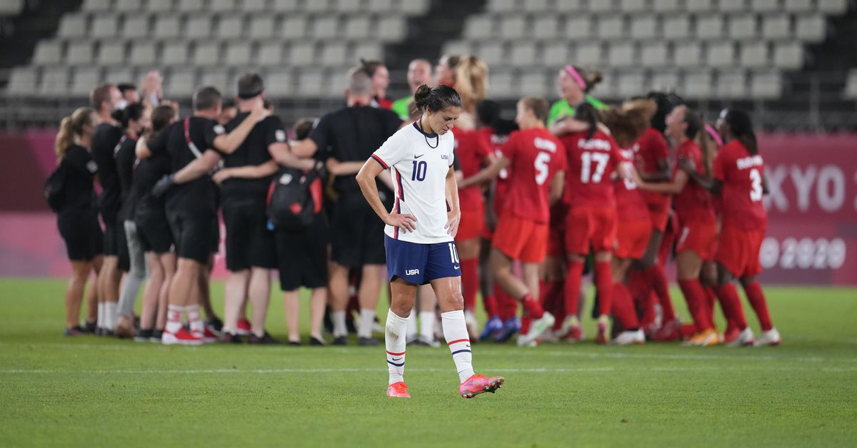 Tuesday Freedom Kicks: USWNT loses to Canada at Olympics, Atlanta United pursues Gonzalo Pineda, and more - Black And Red United