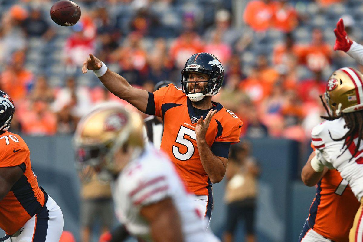 71f4bfdf RECAP: Denver Broncos lose 24-15 to San Francisco 49ers in preseason ...