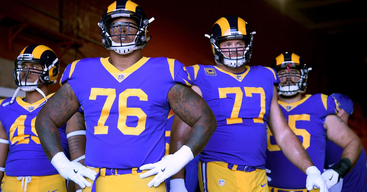 Media and fans hate the Rams OL
