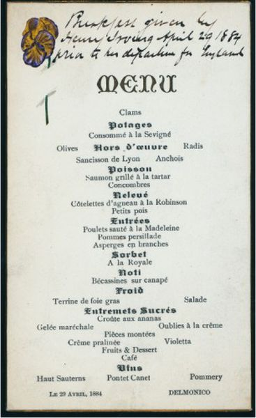 Remembering Delmonico's, New York's Original Restaurant ...