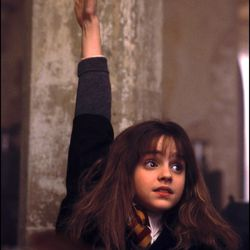 """Aw: Emma Watson's breakout role was wearing wizarding robes back in 2001, in """"Harry Potter and the Sorcerer's Stone."""""""