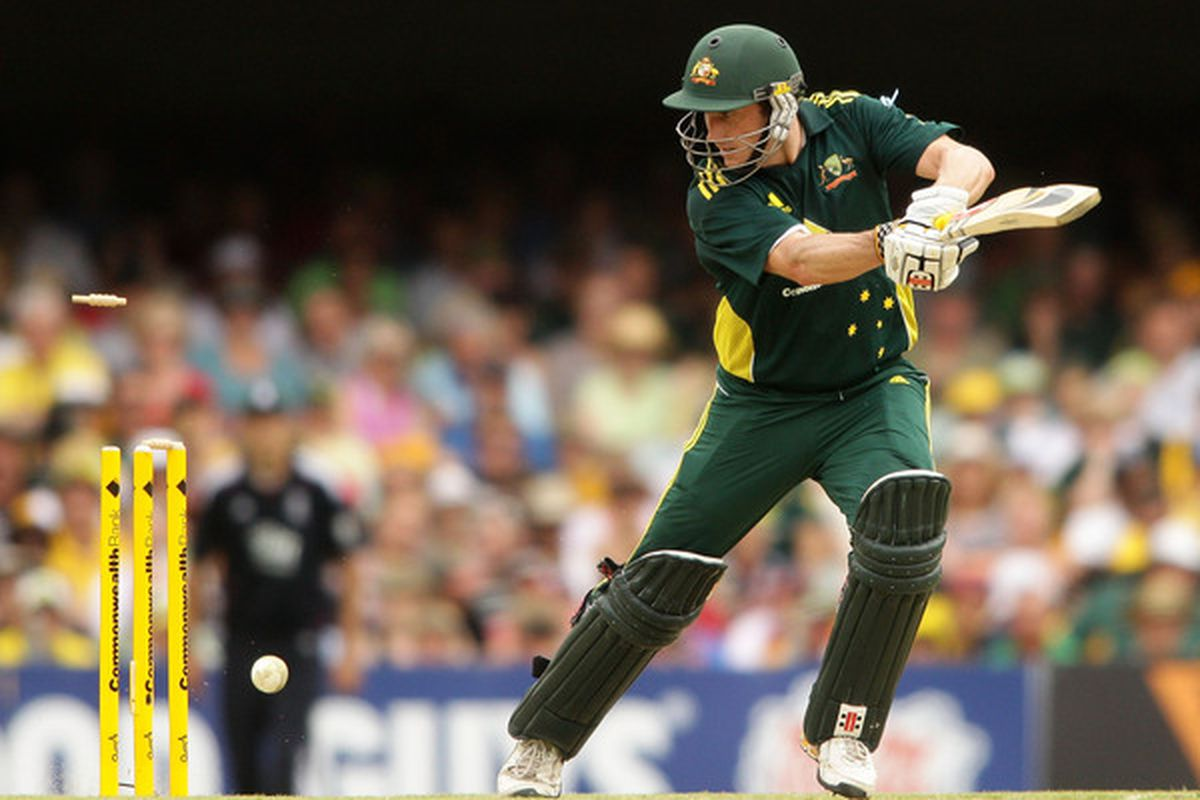 If you look for Chris Bradley pictures on SBNation you get Australian Cricket pictures.  I'm not kidding.