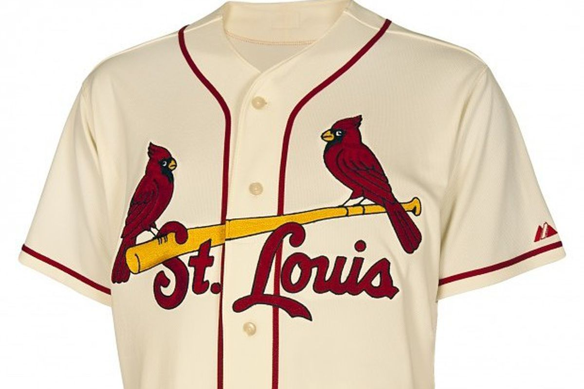 fc8be1ec2b6f The St. Louis Cardinals Unveil Fauxback Jerseys