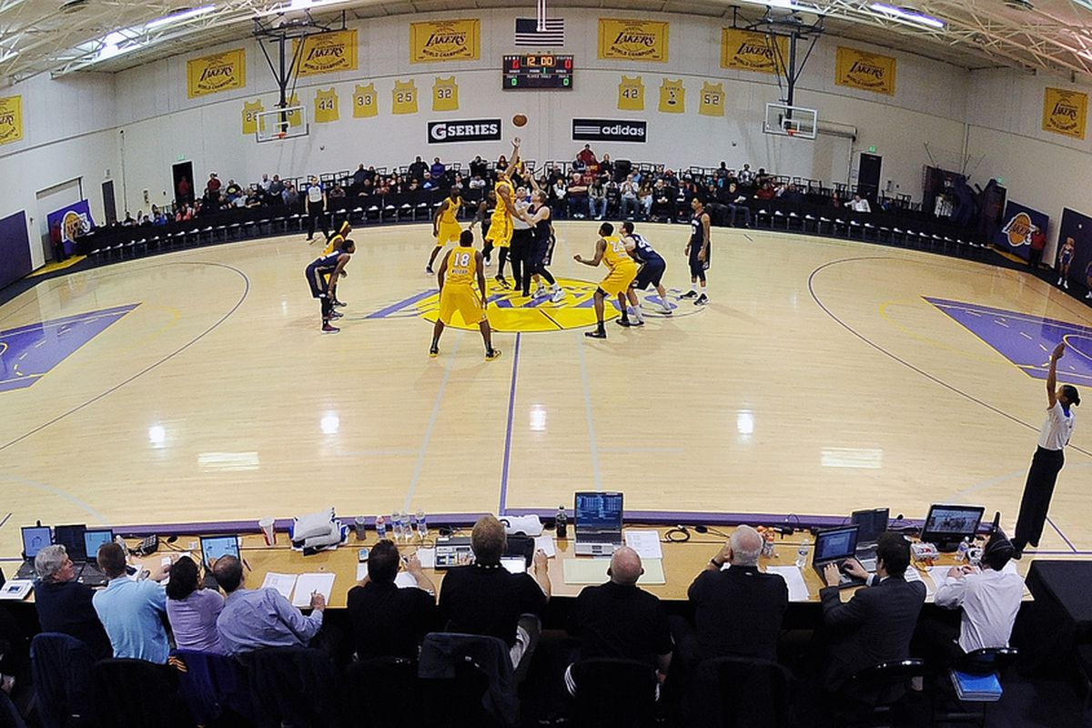 An inside look at the Toyota Sports Center, where the Los Angeles D-Fenders play their home games.