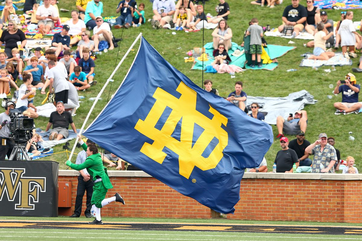 NCAA Football: Notre Dame at Wake Forest