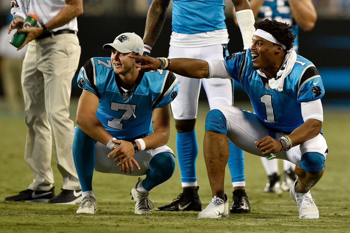 Behold the dismal 2019 combined stats of the Panthers three starting quarterbacks