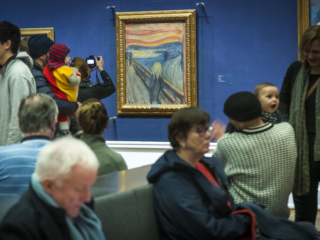 Artist wrote 'madman' sentence on 'The Scream,' museum says