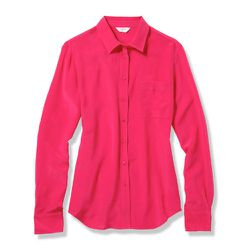 """<b>Tiffany Yannetta, Racked Managing Editor</b>: """"If I could, I'd stack my closet with <b>Equipment</b> blouses, but the price tag doesn't really work for me. <b>Joe Fresh</b> makes a clean silk <a href=""""https://www.joefresh.com/Categories/Women/Tops/Silk"""