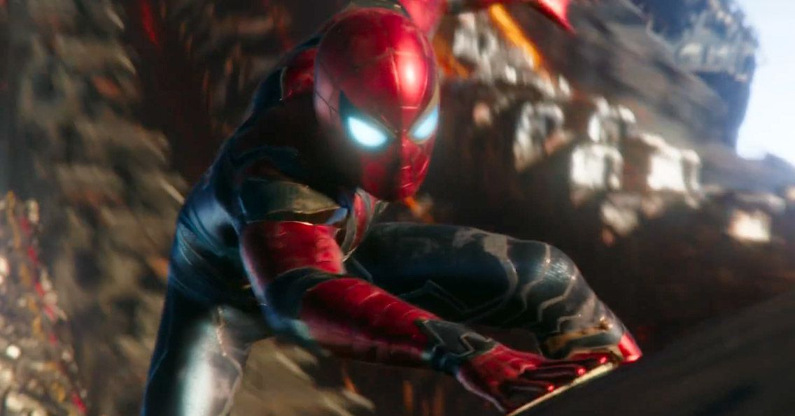 Spidey S Avengers Infinity War Suit Is In Spider Man For