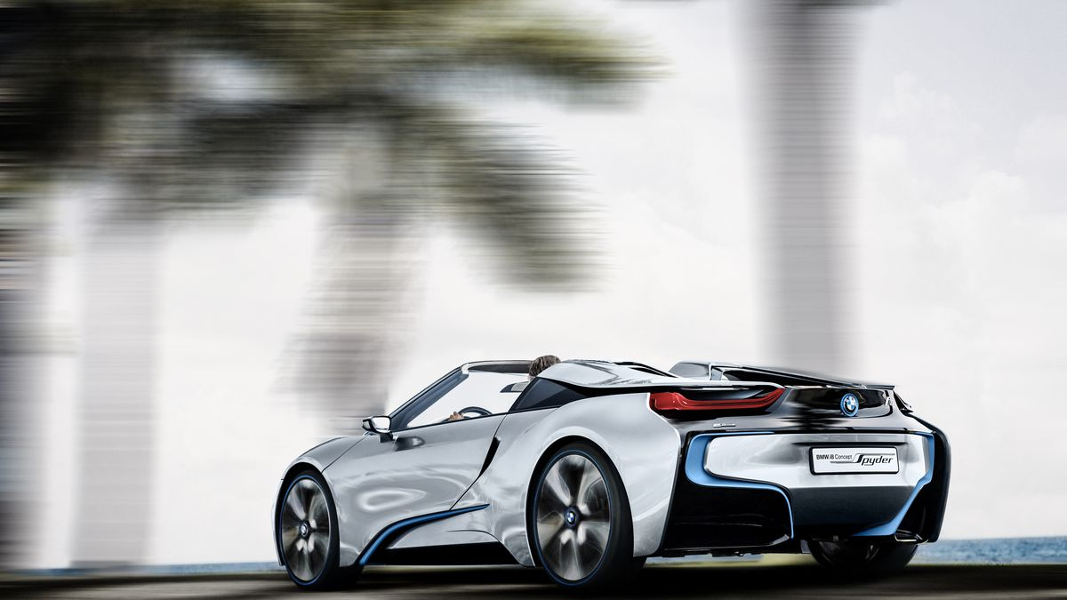 Bmw S I8 Spyder Concept Will Soon Become Reality The Verge