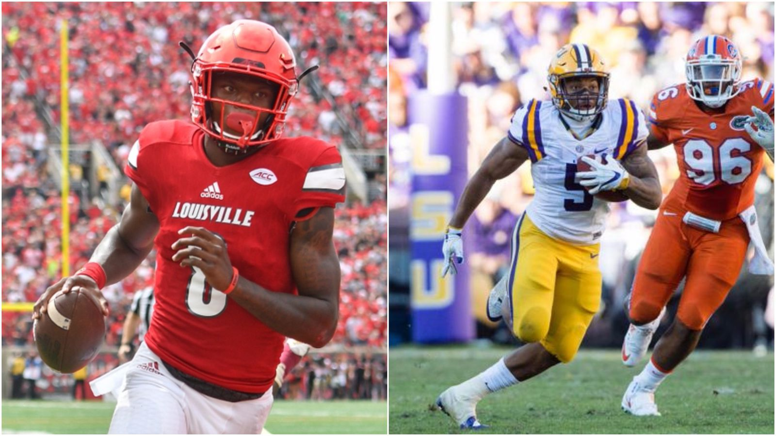 Lamar Jackson Isn T The Only Terrifying Runner In The Lsu