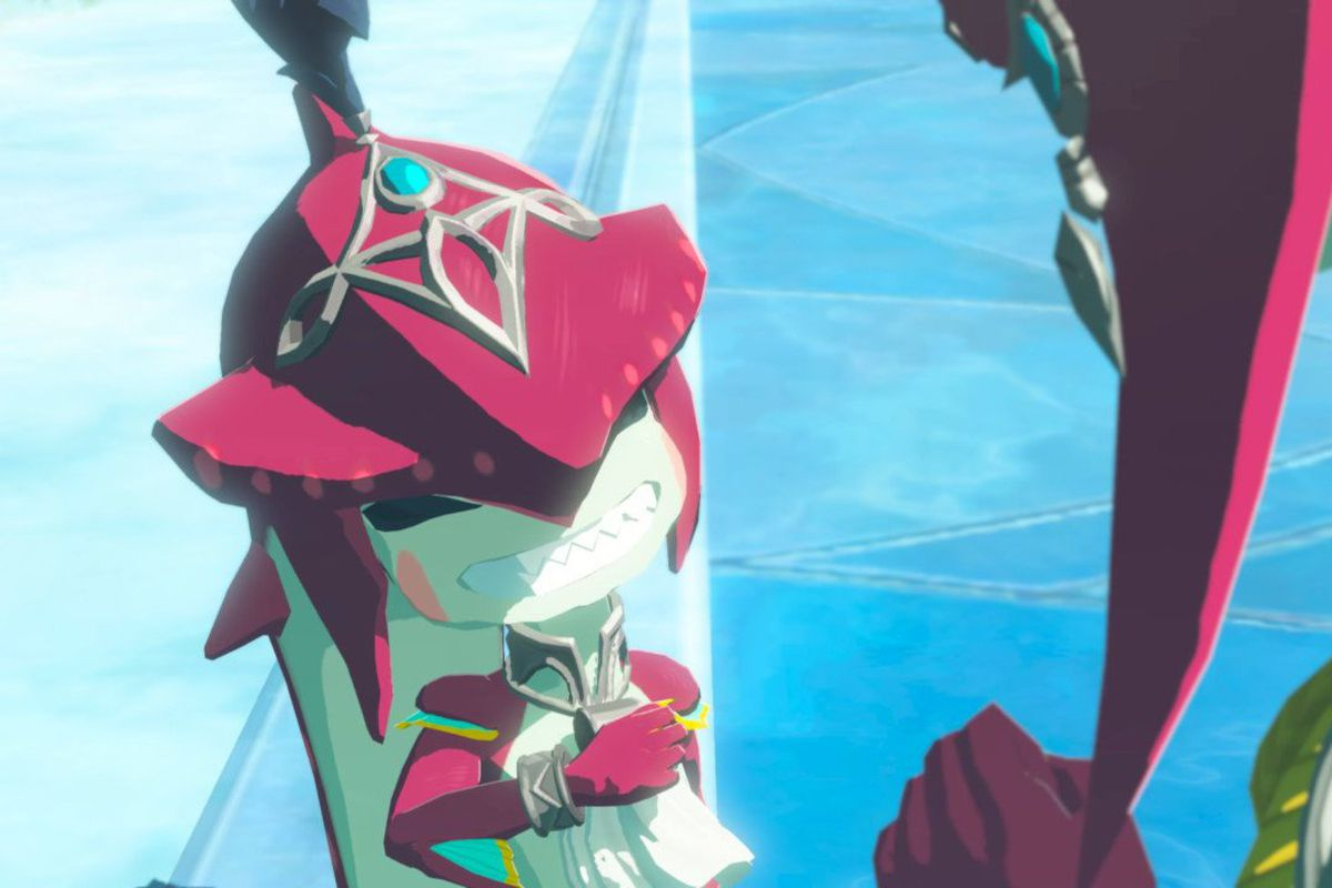 Prince Sidon, as a child, in The Legend of Zelda: Breath of the Wild Champions' Ballad DLC.
