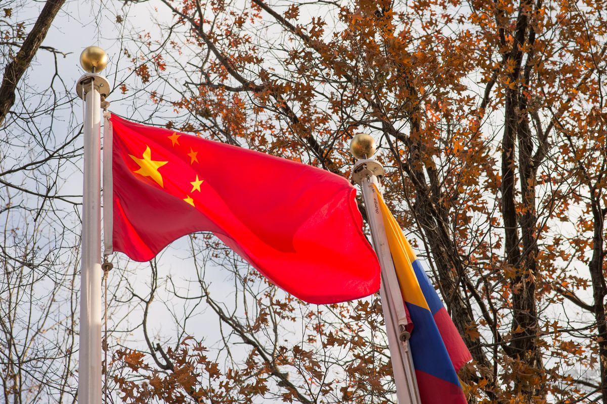china / chinese flag (STOCK)