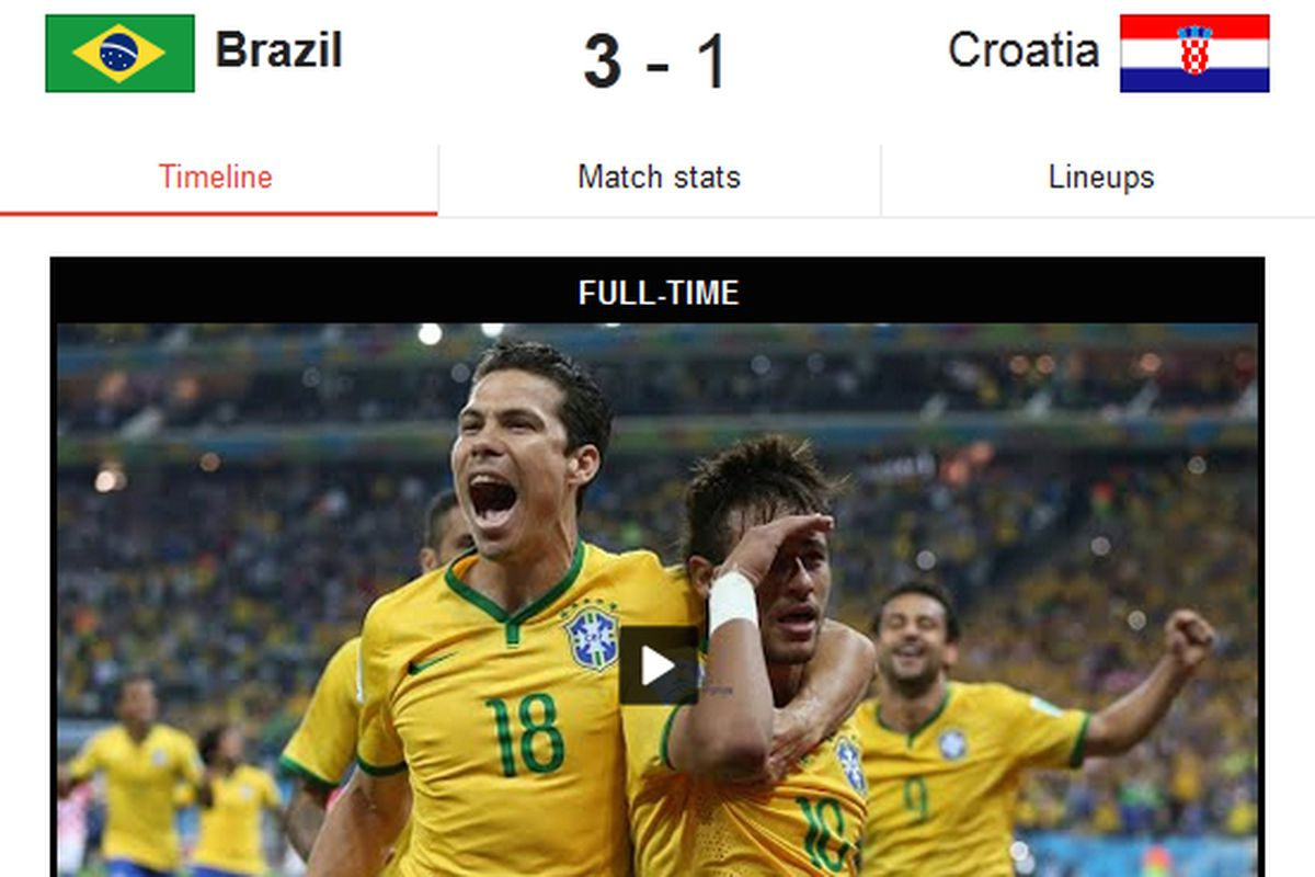 Google And Espn Partner To Put World Cup Highlights In Search The