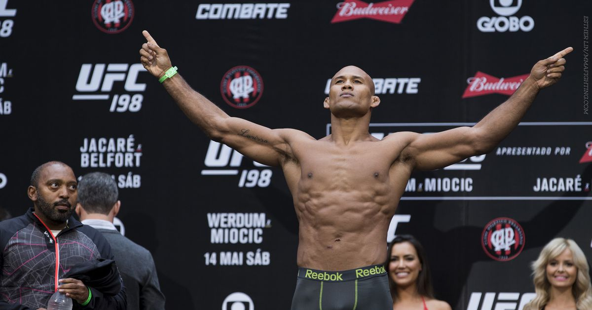 Ronaldo 'Jacare' Souza vs. Kevin Holland added to UFC 256 - MMA Fighting
