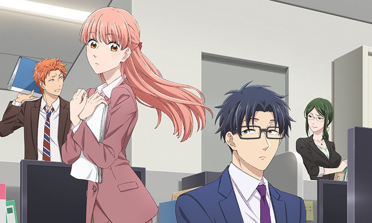 Resultado de imagen para Wotakoi: Love is Hard for Otaku anime