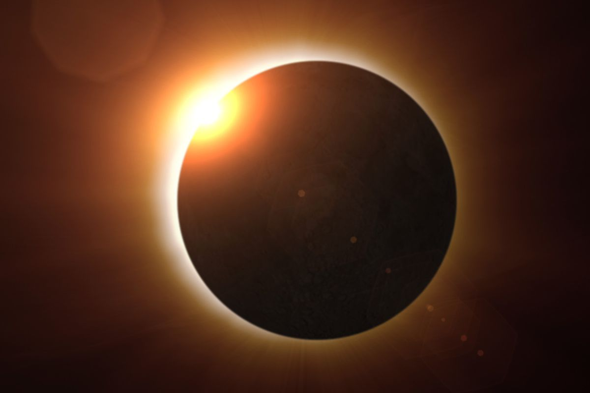 Nearly  90 percent of American adults watched the eclipse last month
