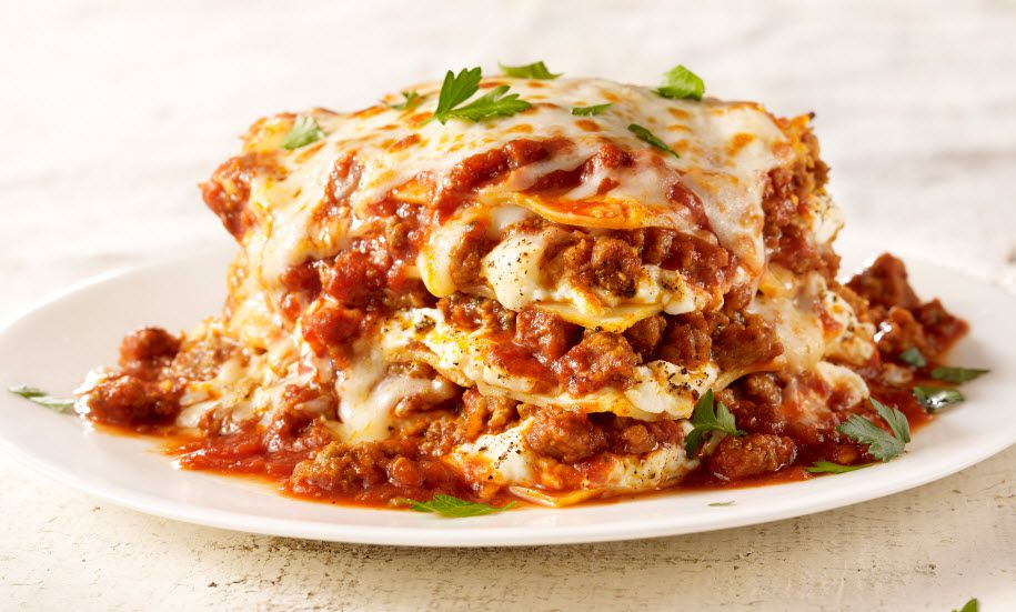 Lasagna at Maggiano's Little Italy