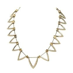 """<strong>House Of Harlow</strong> Trikona Necklace, <a href=""""http://life-curated.com/index.php?product=N002080W&shop=1&c=29"""">$75</a> at Life:Curated"""