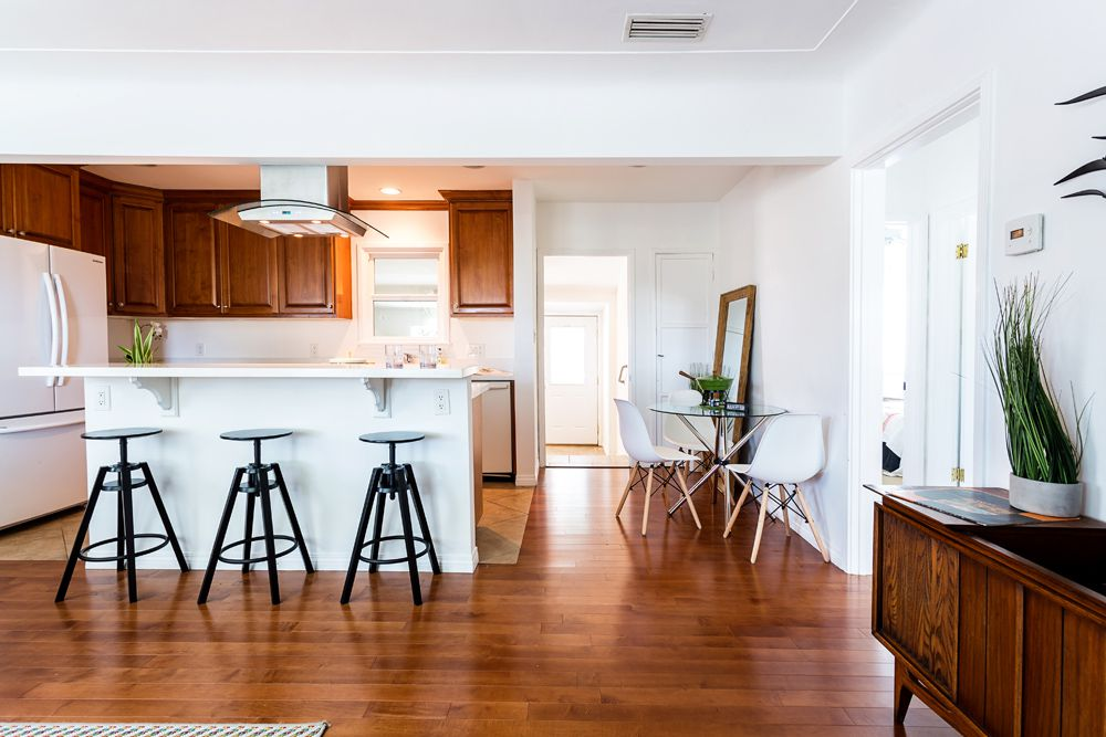 Kitchen and dining nook