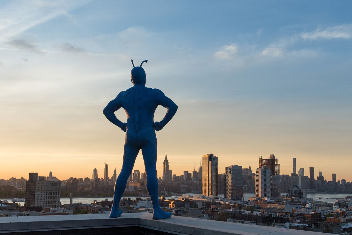 The Tick creator on taking his iconic funny superhero to a darker
