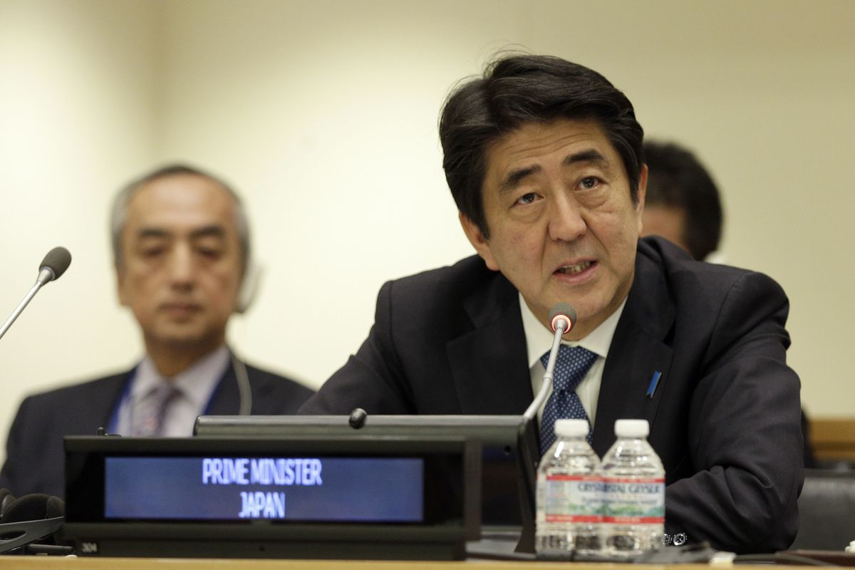 Prime Minister Shinzo Abe has been struggling to get Japan out of its low-inflation, low-interest-rate, low-growth rut.