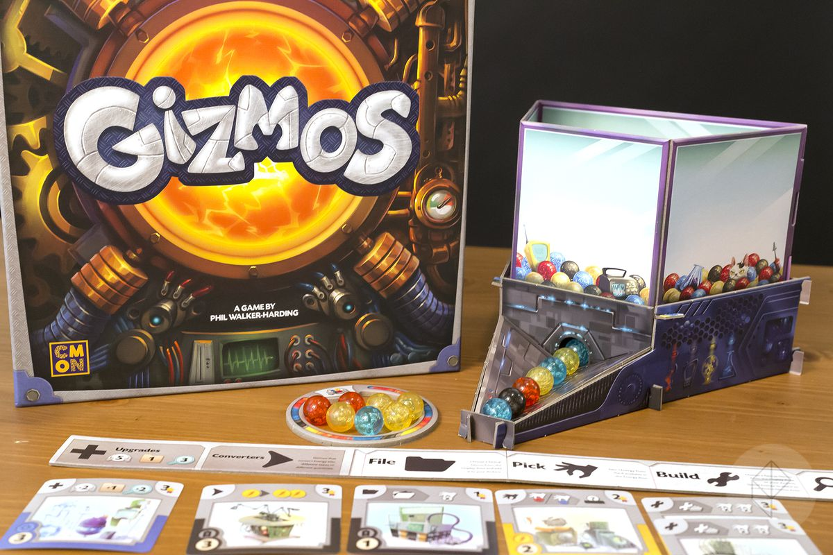 Gen Con 2018 — The energy dispenser from Gizmos is gravity fed, like a gumball machine.