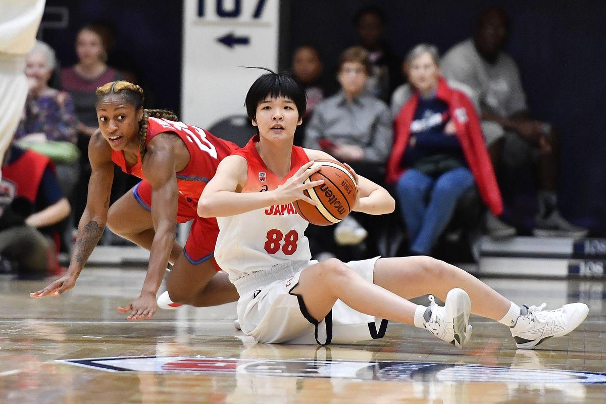 Basketball: International Women's Basketball-Japan at USA