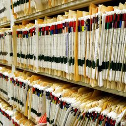 Among the Daughters of Utah Pioneers' primary missions is collecting documents and stories about the lives of individuals. Available to the general public for research, thousands of files line shelves in the archives of Pioneer Memorial Museum.