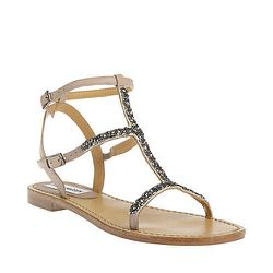 """Steve Madden <a href=""""http://www.stevemadden.com/Item.aspx?id=98100&np=709_854"""">Poppin</a> sandal: """"Every spring I go on a quest for the perfect inexpensive, barely-there flat sandal that I can wear constantly (inevitably trashing them by Labor Day). Thes"""