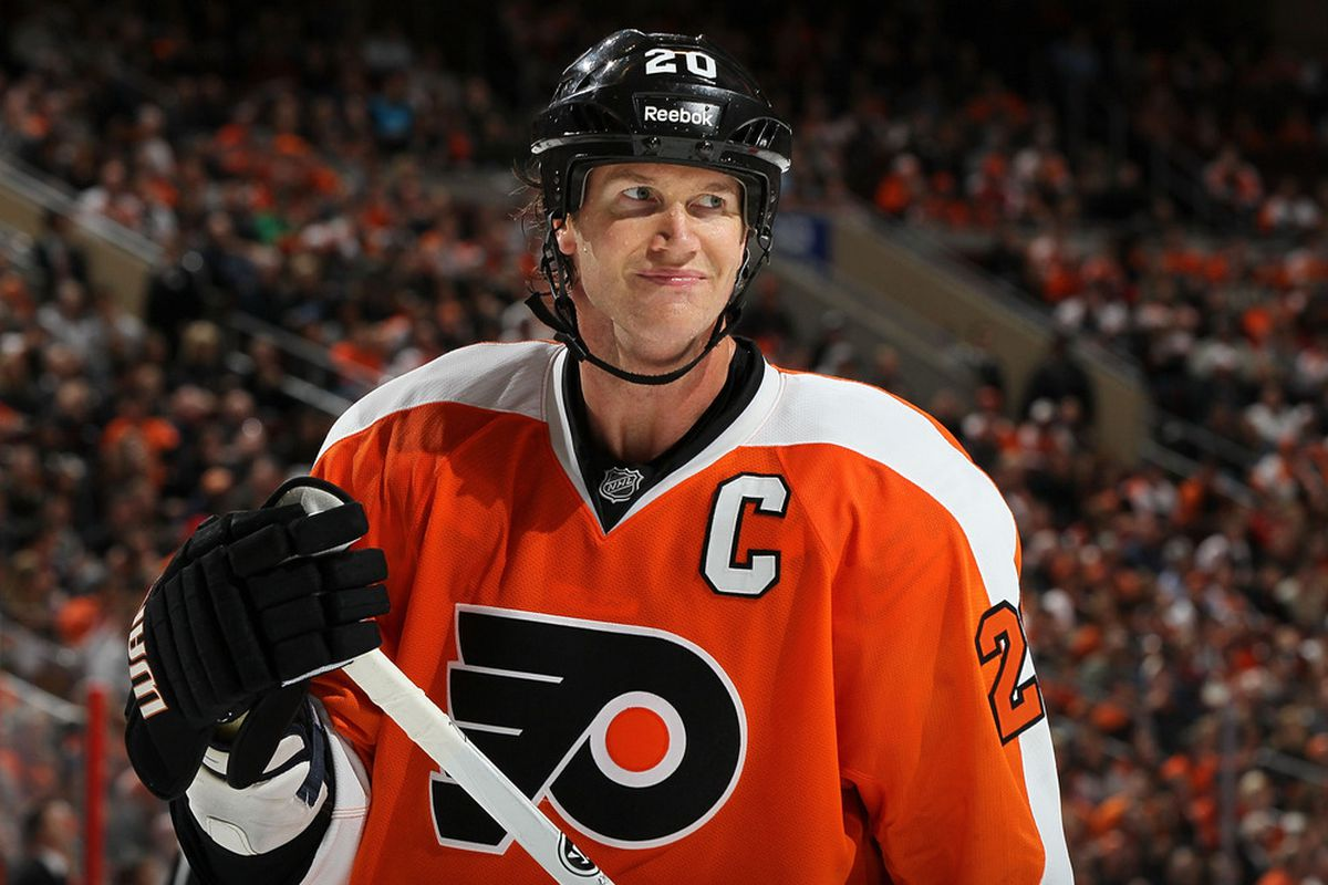 Chris Pronger: well known to DoPS and a victim of a concussion