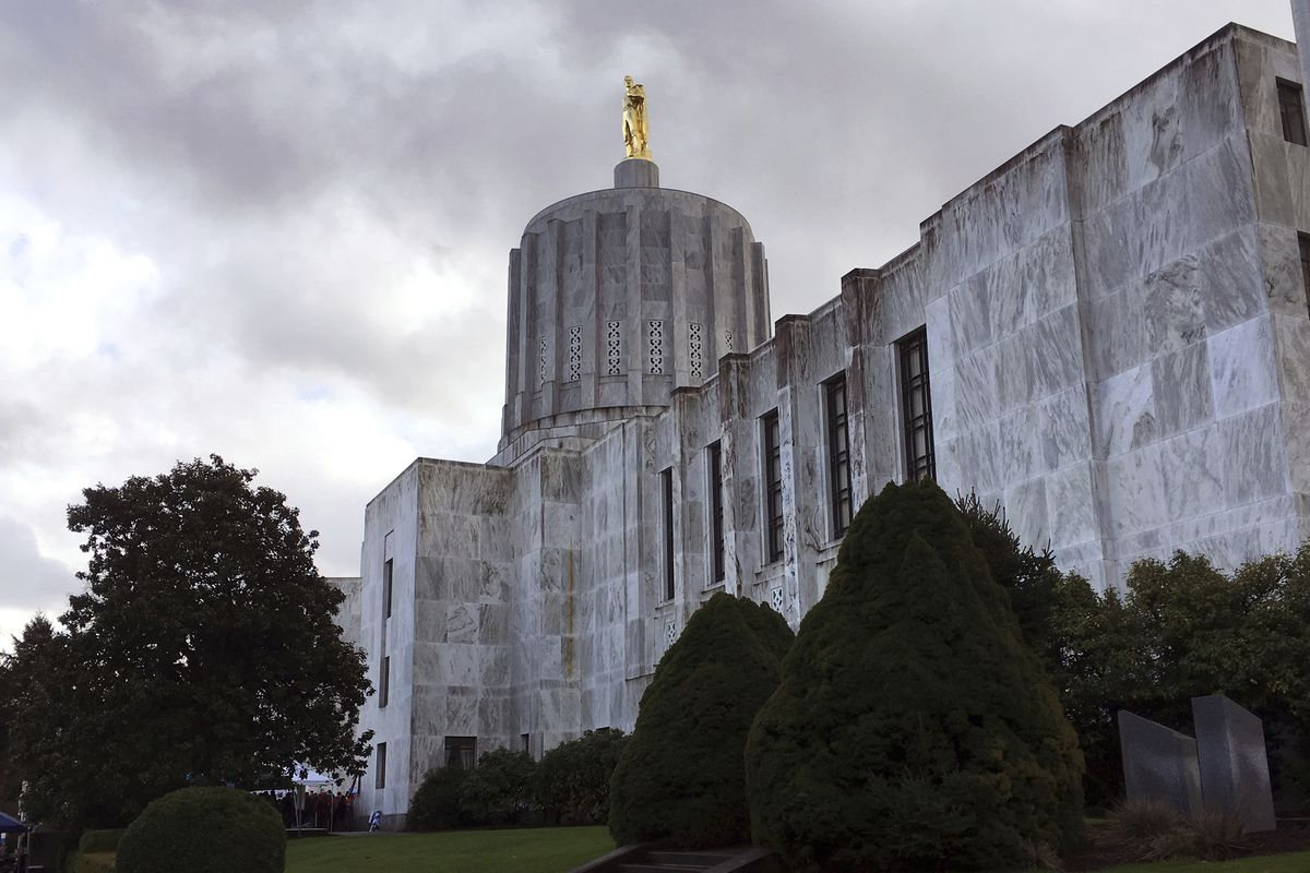 The five counties are a part of liberal Oregon. They're looking to join a conservative Idaho.