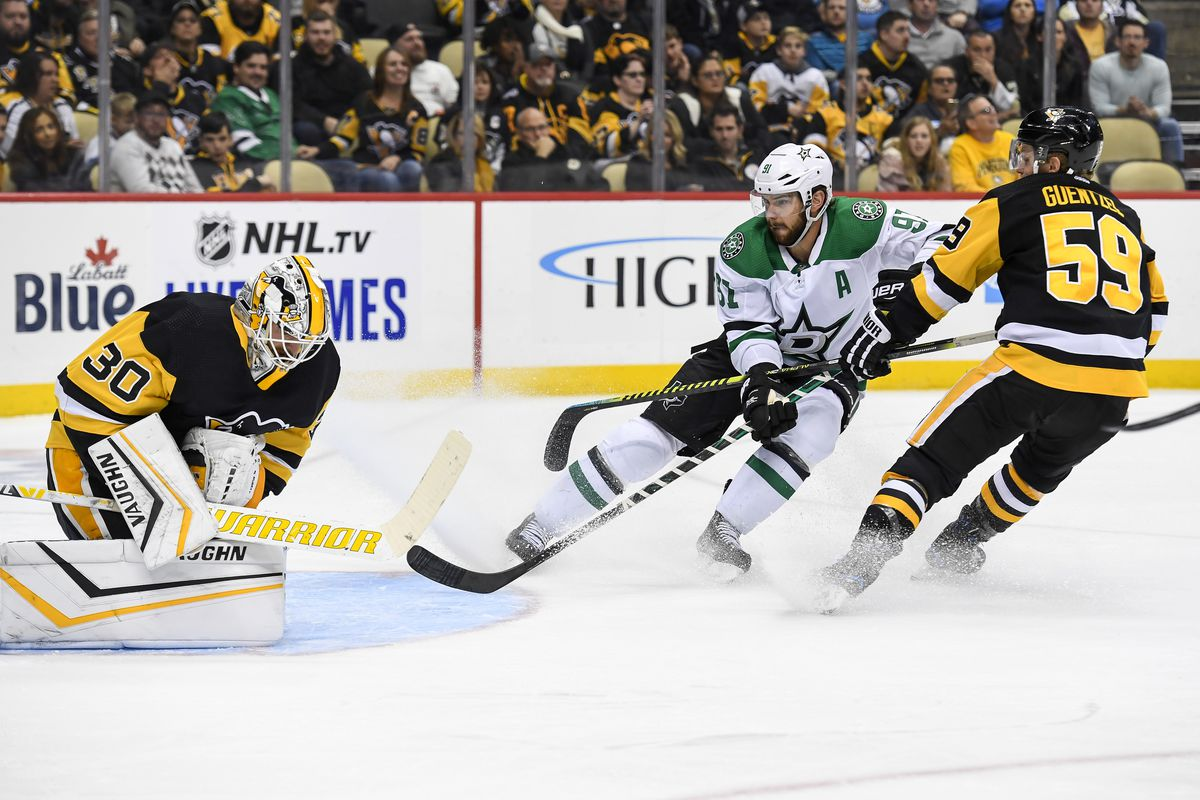 NHL: OCT 18 Stars at Penguins